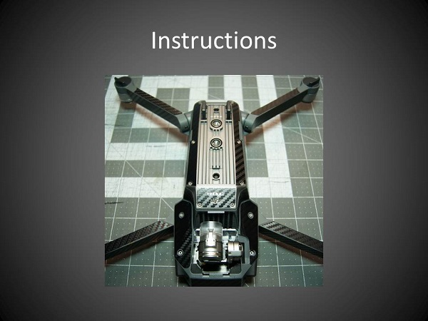 dji mavic pro instructions